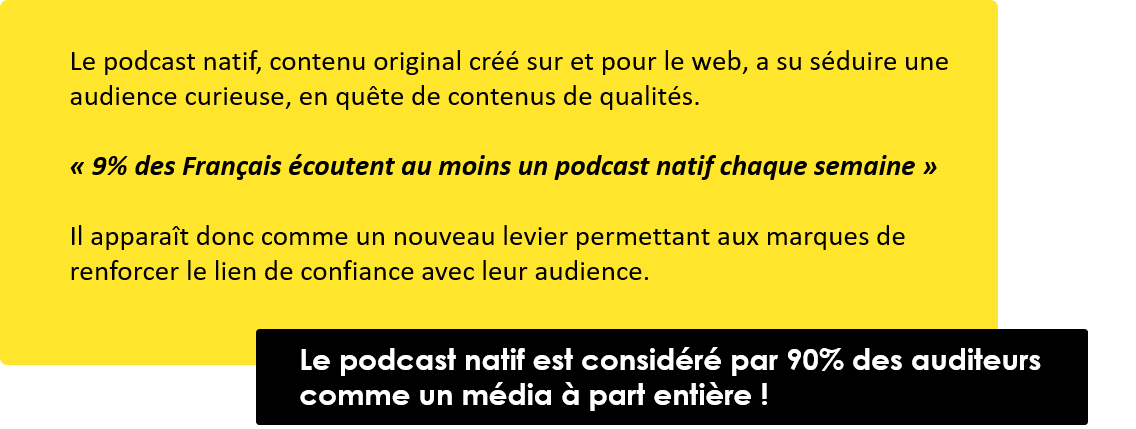 le podcast natif